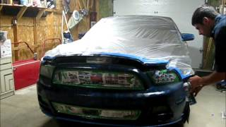 3M Paint Defender Spray on 2014 Mustang - Full application and review